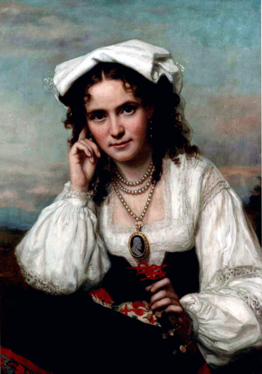 Vinnie Ream by George P. A. Healy 1870